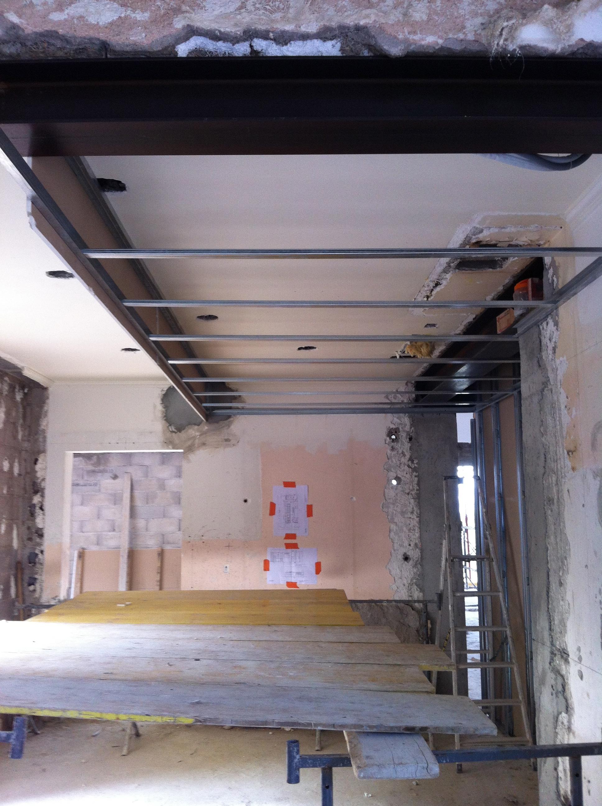 Placo cloisons faux plafonds dream house for Construction faux plafond